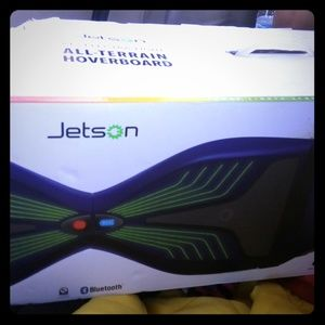 Jetson v12 electra-light All terrain hoverboard.